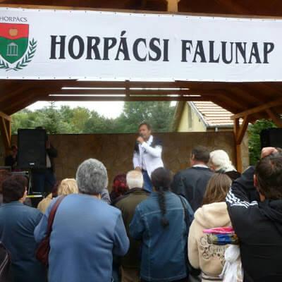 XV. Horpácsi Falunap 2013