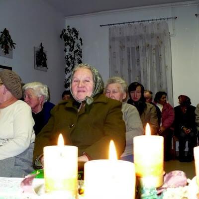 Karácsonyi nyugdíjas-est 2009.12.21