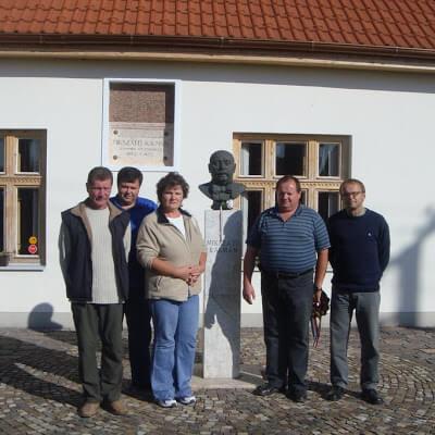 Látogatás Szklabonyán 2009.10.03