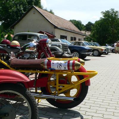 Veterán járművek Horpácson 2009. július 11